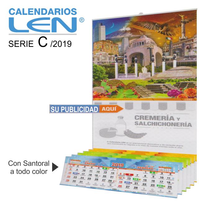 Calendario Santoral.Calendarios De Pared Con Varilla De 39 9 X 78 6 Cm