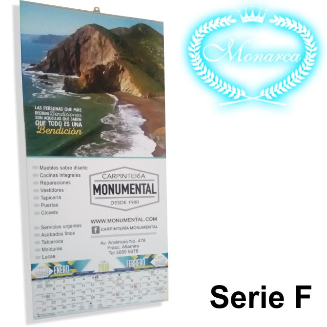 Calendario F.Calendario Con Varilla Tamano 23 X 43 Cm
